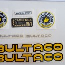 BULTACO SHERPA KIT CAMPEON DECALS KIT NEW BULTACO SHERPA KIT CAMPEON DECALS BULTACO SHERPA