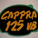 MONTESA CAPPRA 125 VB FRONT NUMBER PLATE + DECAL