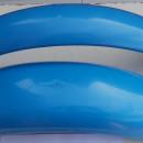 BULTACO SHERPA BLUE FENDERS NEW SHERPA 198 199 FENDERS PLASTIC BLUE