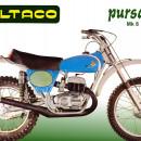 FENDERS BULTACO PURSANG MK8 NEW FIBER GLASS MUDGUARDS BULTACO PURSANG MK8