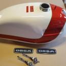 OSSA ENDURO 73 GAS TANK NEW OSSA ENDURO E73 GAS TANK NEW OSSA ENDURO E-73