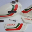 OSSA MICK ANDREWS 350cc GAS TANK + SIDE PANELS NEW OSSA MAR BODY KIT GAS TANK + SIDE PANELS OSSA MICK ANDREWS 350cc