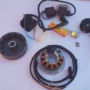 OSSA SUPER PIONEER ELECTRONIC IGNITION 12v KIT PARTS NEW OSSA MOUNTAINEER ELECTRONIC IGNITION