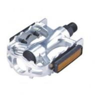 Pedale MTB/Trekking Aluminiu, argintiu Syncromate