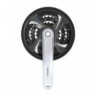 Angrenaj pedalier Shimano Tourney FCTX801 42/32/23 170mm