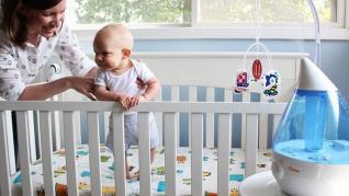 Umiditate in camera bebelusului