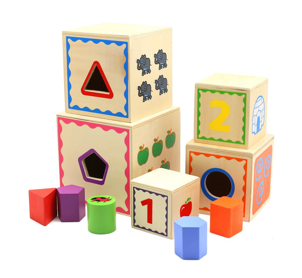 Cuburi, forme, culori