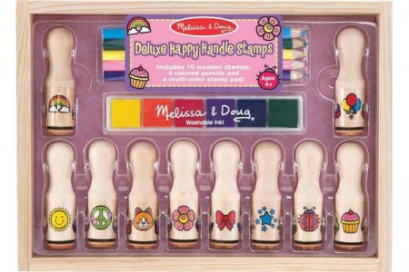 Set stampile Happy Handle Deluxe Melissa and Doug