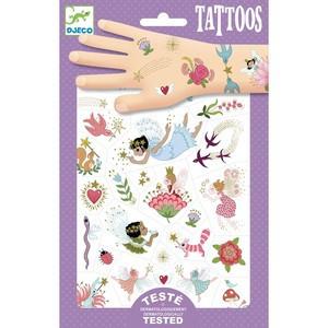 Tatuaje Djeco Cu zane si flori