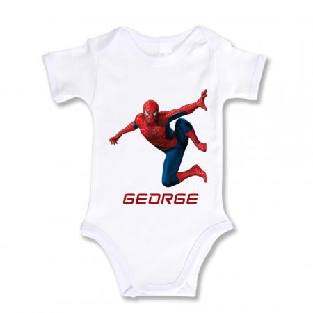 Body Bebe Personalizat SpiderMan