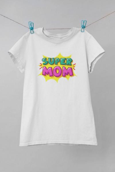 Tricou printat Super Mom
