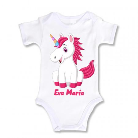 Body Bebe Personalizat Unicorn