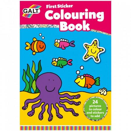 Early Activities: Prima carte de colorat cu abtibilduri