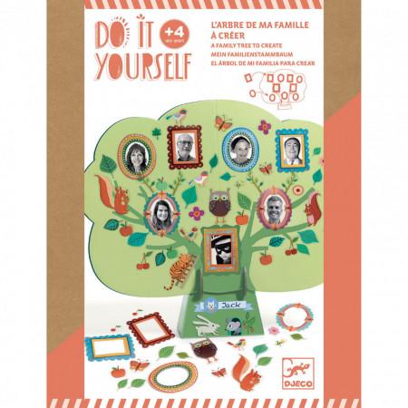 Set DIY Djeco, Arborele genealogic