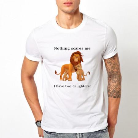 Tricou printat Nothing scares me