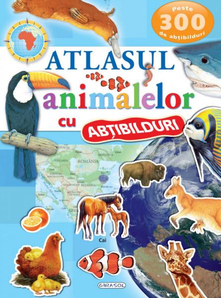 Atlasul animalelor cu abtibilduri