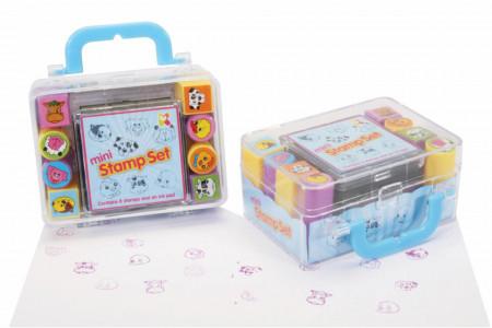 Set mini tusiera cu stampile