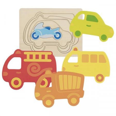 Puzzle stratificat Vehicule