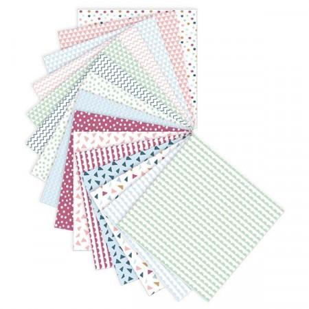 Set 30 coli hartie pentru Origami