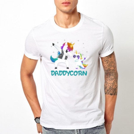 Tricou printat Dadycorn 1