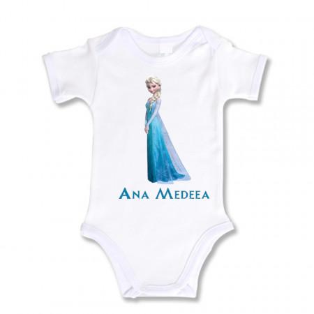 Body Bebe Personalizat Elsa