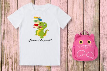 Tricou Personalizat Prima zi de scoala