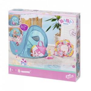 BABY born - Set plaja - cort cu accesorii