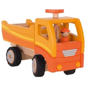Basculanta cu sofer - Vehicul de constructie, lemn