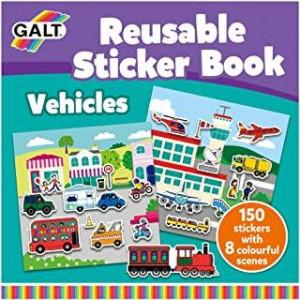 Cartea mea cu stickere - Vehicule