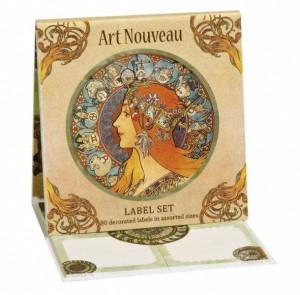 Etichete Fridolin Art Nouveau