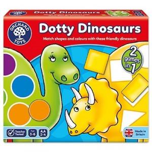 Joc educativ Dinozaurii cu pete DOTTY DINOSAURS