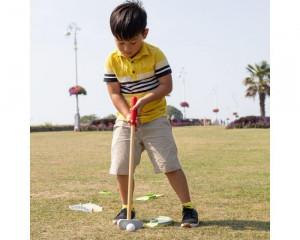 Joc Mini-Golf din lemn