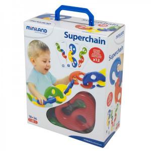 Joc Superchain 16 piese Miniland