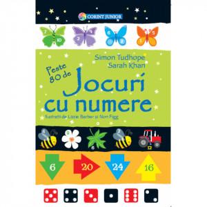 Jocuri cu numere - Carte povesti pentru copii
