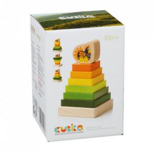 """Jucarie din lemn, Cubika, """"Piramida 2"""""""