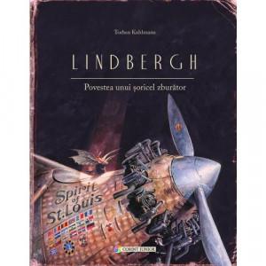 Lindbergh. Povestea unui soricel zburator - Carte povesti pentru copii