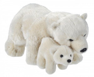Mama si Puiul - Urs Polar