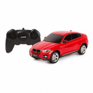 MASINA CU TELECOMANDA BMW X6 ROSU CU SCARA 1 LA 24