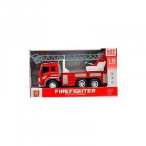 Masina de pompieri cu sunete si lumini,Macara, 3ani+ Hausmann