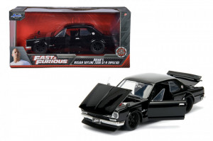 MASINUTA METALICA FAST AND FURIOUS 1971 NISSAN SKYLINE SCARA 1 LA 24