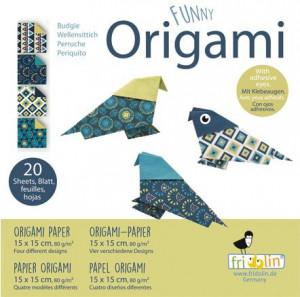 Origami Fridolin, pasari