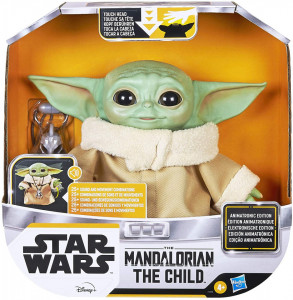 PLUS INTERACTIV STAR WARS THE CHILD ANIMATRONIC EDITION AKA BABY YODA