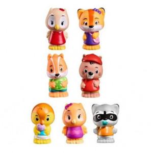 Prietenii Padurii - Set 7 figurine - Joc de rol