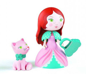 Printesa Rosa & pisicuta