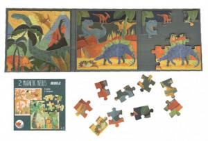 Puzzle magnetic Egmont toys, Dinozauri