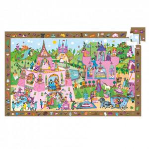 Puzzle observatie Djeco, Printese