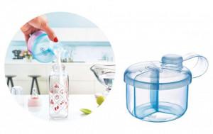 Recipient BabyJem pentru lapte praf cu 3 compartimente Practic