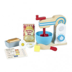 Set de joaca din lemn Mixer pentru prajituri - Melissa & Doug