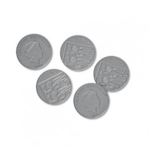 Set de monede de jucarie (10 penny)