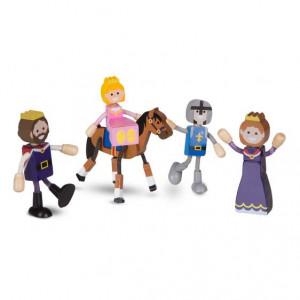 Set figurine flexibile Familia Regala - Melissa & Doug